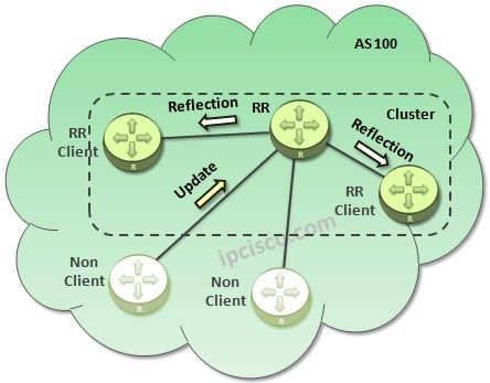 BGP-RR-update-from-non-client