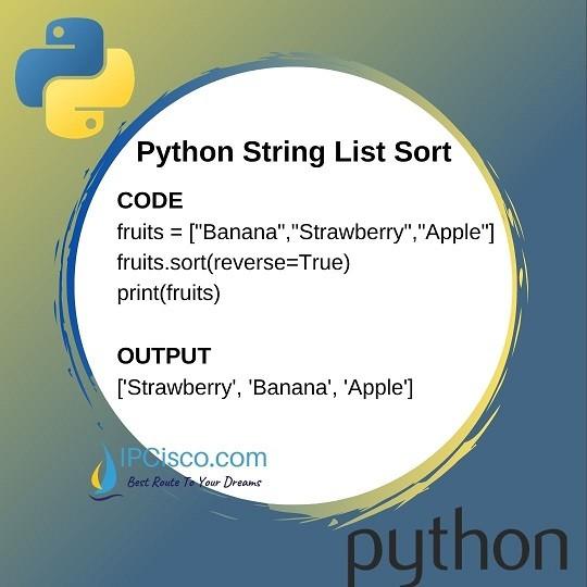 Python-String-Lists-sort-ipcisco-2