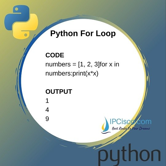 how-to-use-for-loop-in-python-ipcisco