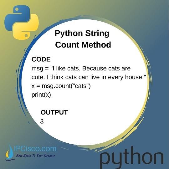 python-count-method-ipcisco-python-course
