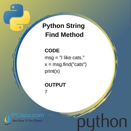 python-find-method-ipcisco-python-course