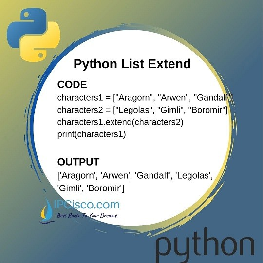 python-list-extend-method-ipcisco-1