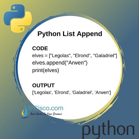 python-list-methods-append-method-ipcisco