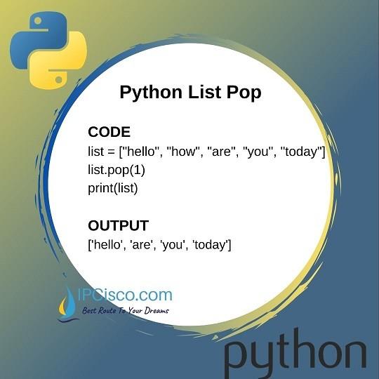python-list-pop-method-ipcisco