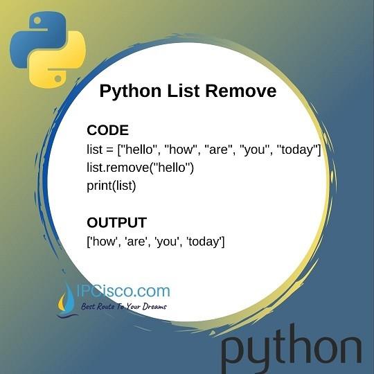 python-list-remove-method-ipcisco