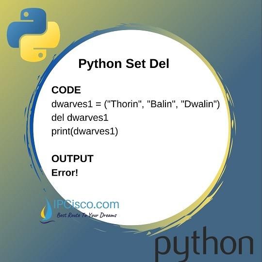 python-set-del-funtion-ipcisco