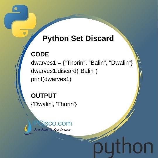 python-set-discard-ipcisco