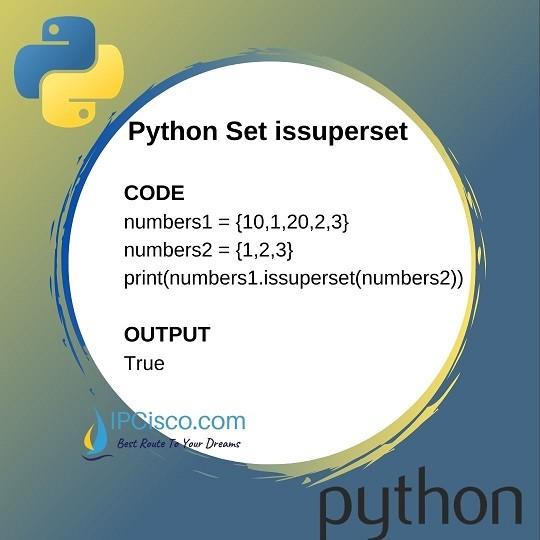 python-set-methods-issuperset-method