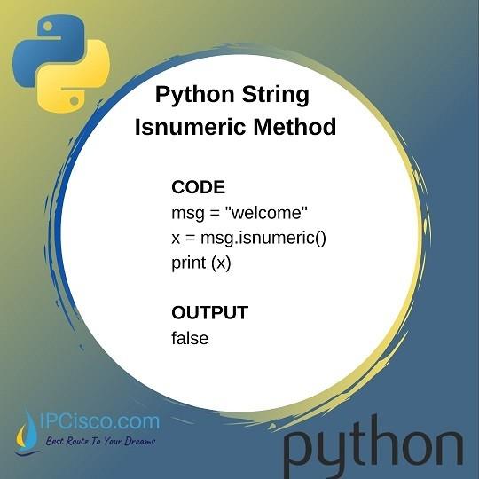python-string-methods-isnumeric-method