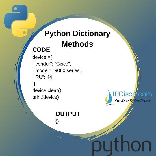 clear-method-of-python-dictionaries