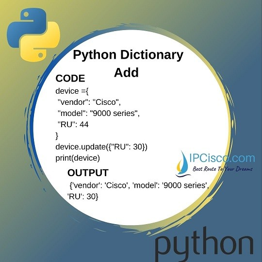 how-to-add-To-Dictionary-in-python