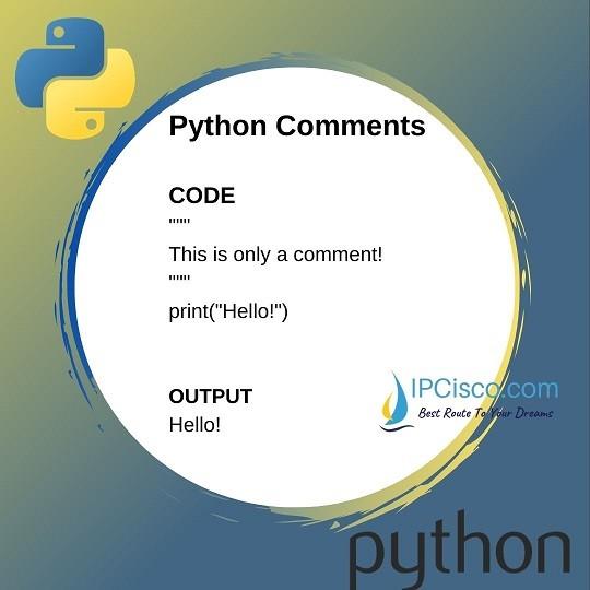 python-comment-code-ipcisco