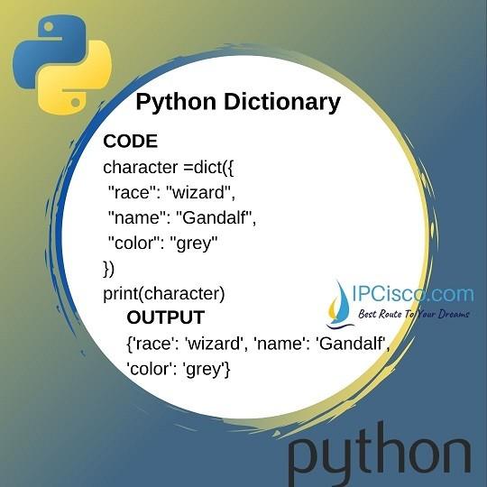 python-dictionaries-lesson-4-ipcisco