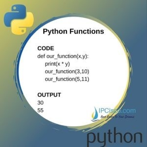 Python Functions | def function | How to Create Python ...