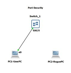 gns3-port-security-config