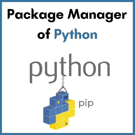 python-pip-package-manager-of-python