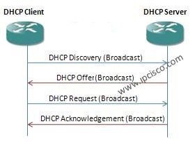 DHCP Messages, DHCP Discovery, DHCP Offer, DHCP Request, DHCP ACK, DHCP NACK