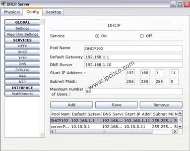 2 DHCP Config Example | Router DHCP Configuration with
