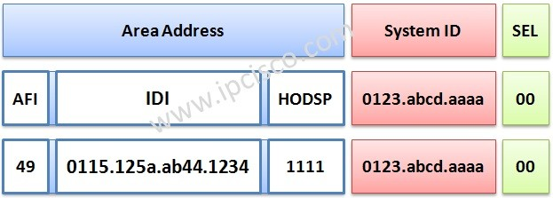 ISIS-address-format-ipcisco