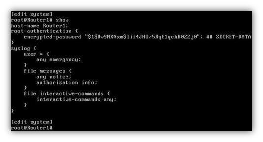 Initial Configuration for Juniper Routers | http://ipcisco com