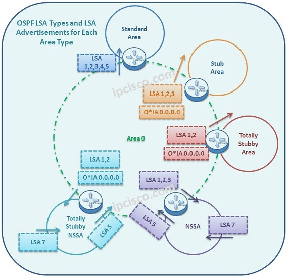ospf-lsa-types-and-advertisements